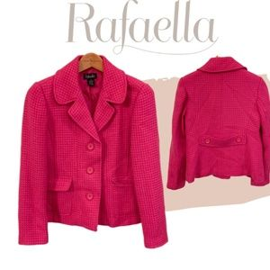 BUNDLES ARE 50% OFF - Rafaella Wool Blazer Jacket